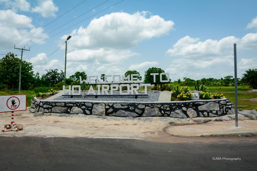 Ho Airport Entrance