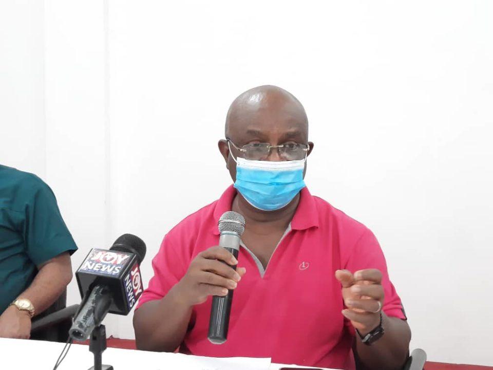 Volta Regional Minister, Dr. Letsa