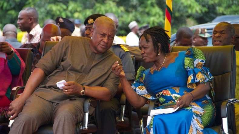 Falshback: John Mahama & Prof. Naana Jane Opoku-Agyemang