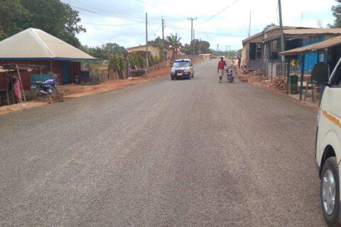Bituminous surfacing ofHohoe town roads