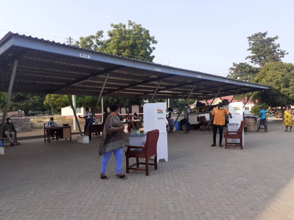 Voting ongoing at Keta Municipal Assembly voting centre