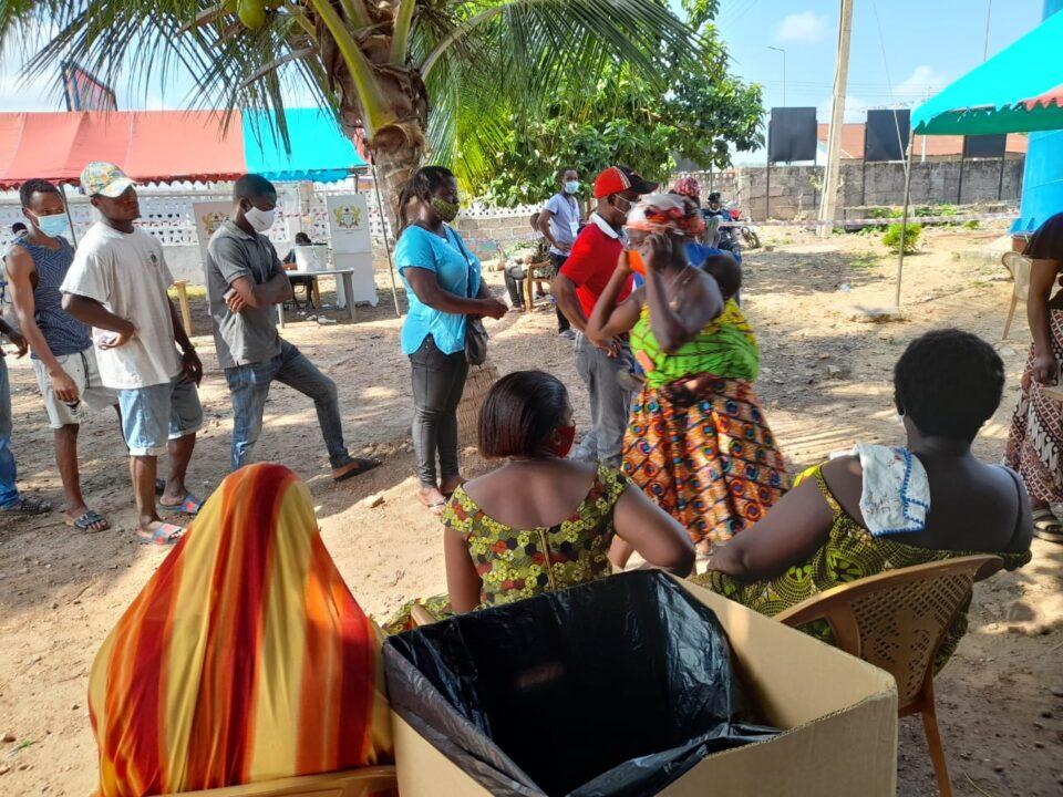 Ho STC terminus voting centre