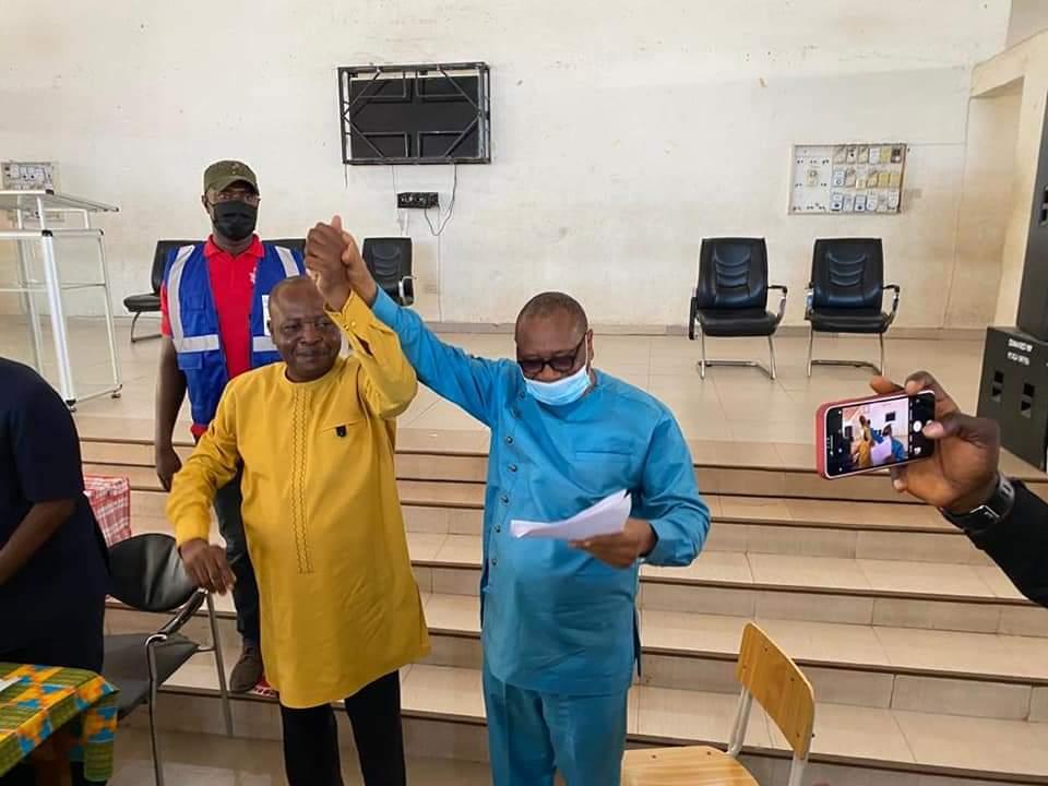 Mr. Nyonyo declared  winner